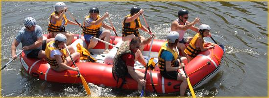 Мигейские пороги привлекают внимание любителей водного туризма со всей Украины.