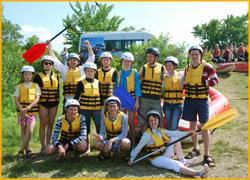 Команда готова к выходу на воду