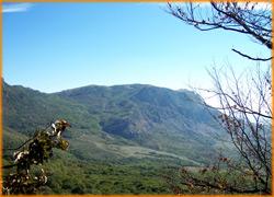 Одна из красивийших панорам горного Крыма.