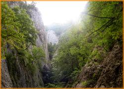 Большой Крымский каньон с высоты птичьего полета.