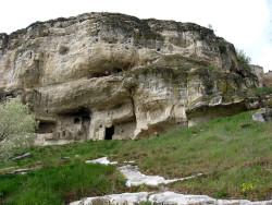 Пещерный город в Крымских горах