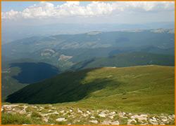 Сказочные пейзажи Карпатских гор.