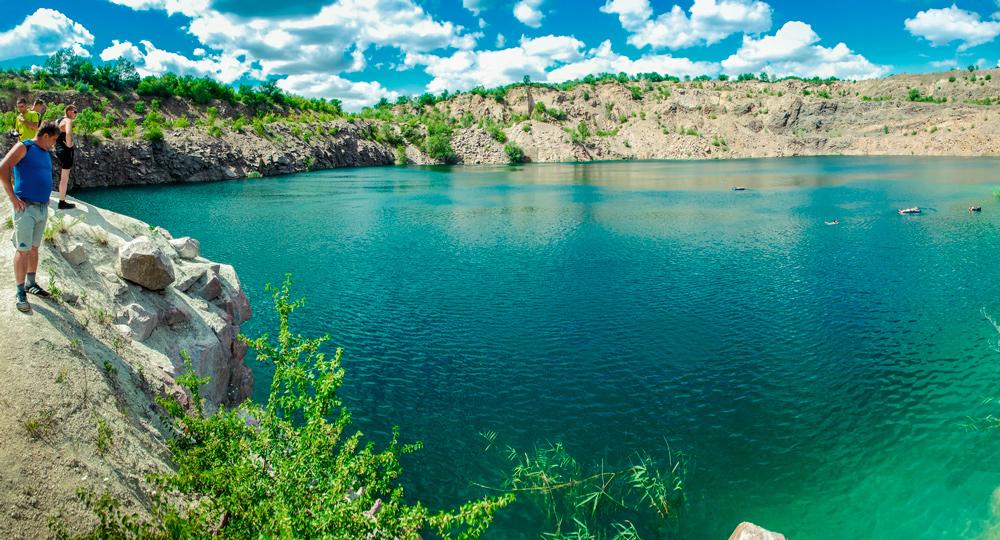 Радоновое озеро в Мигие
