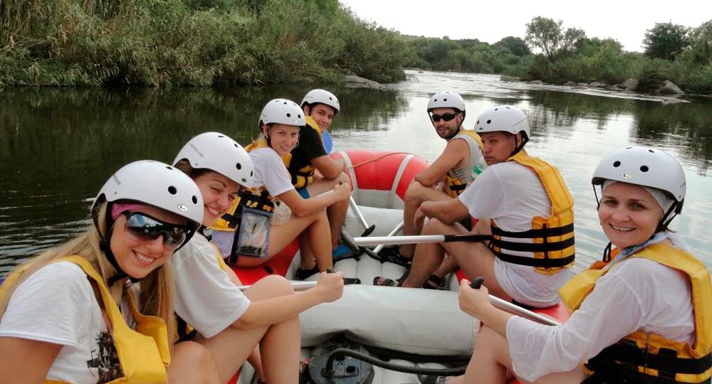 Сплав по реке Южный Буг Мигея