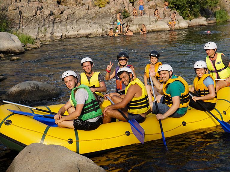 активный отдых на реке Южный Буг